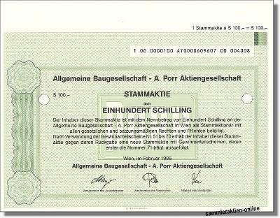 Allgemeine Baugesellschaft A. Porr