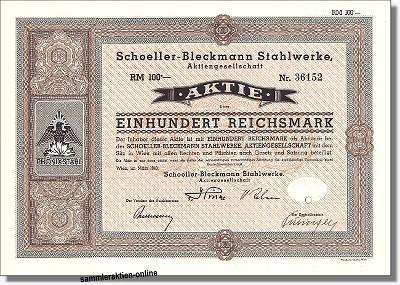 Schoeller-Bleckmann Stahlwerke AG