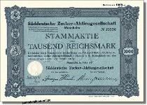 Süddeutsche Zucker-AG - Südzucker