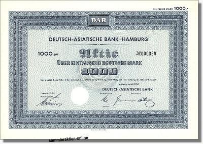 Deutsch-Asiatische Bank AG