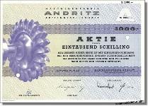 Maschinenfabrik Andritz Actiengesellschaft