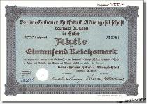 Berlin-Gubener Hutfabrik AG vormals A. Cohn