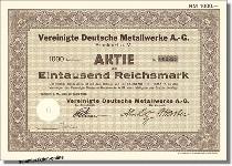 Vereinigte Deutsche Metallwerke AG