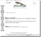 Jaguar plc