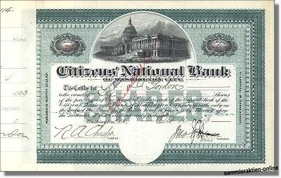 Citizens' National Bank of Washington City