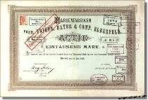 Bayer - Farbenfabriken vorm. Friedr. Bayer & Comp - Nachdruck