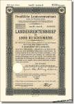 Preußische Landesrentenbank - heute Postbank
