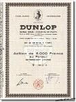 Dunlop SE des Pneumatiques
