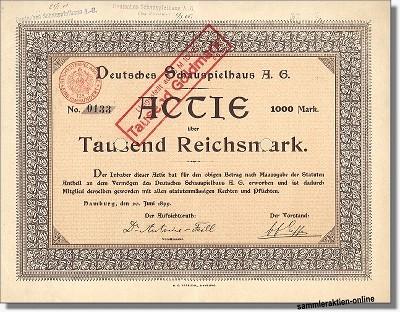 Deutsches Schauspielhaus AG