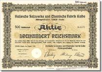 Hallesche Salzwerke und Chemische Fabrik Kalbe AG