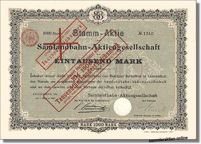 Samlandbahn-Aktiengesellschaft