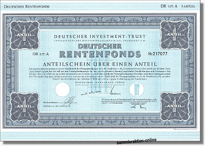 Deutscher Investment Trust - DIT DR