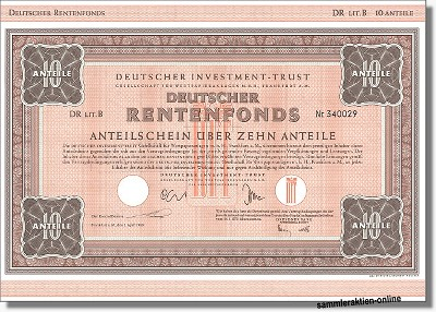 Deutscher Investment Trust - DIT DR