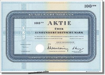 KKB Kundenkreditbank - Deutsche Haushaltsbank KGaA - Citibank - Targobank