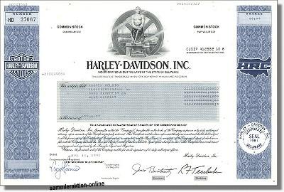 Harley Davidson Inc. - HRC