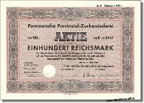 Pommersche Provinzial-Zuckersiederei