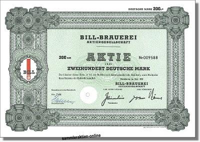 Bill-Brauerei Aktiengesellschaft