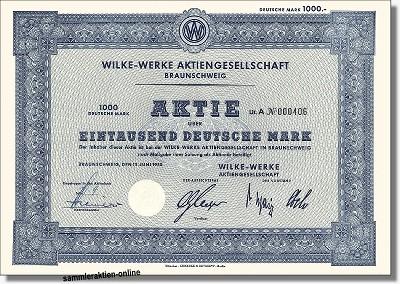 Wilke Werke AG