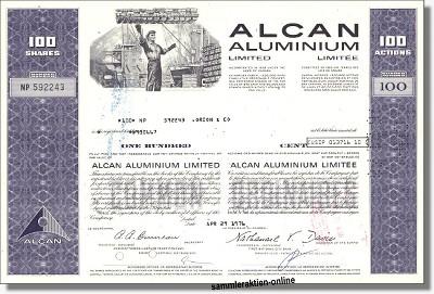 ALCAN Aluminium Limited
