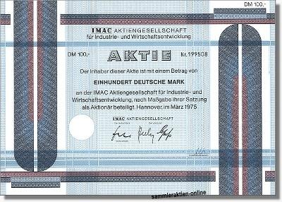 IMAC AG für Industrie- und Wirtschaftsentwicklung