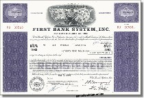 First Bank System, Inc. - U.S. Bancorp