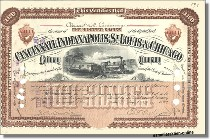 Cincinnati, Indianapolis, St. Louis & Chicago Railway Company