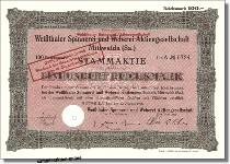 Weißthaler Spinnerei und Weberei AG
