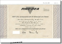 RWE-DEA Aktiengesellschaft für Mineraloel und Chemie