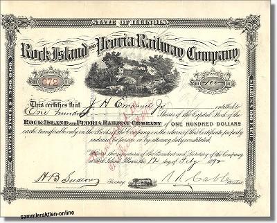 Rock Island and Peoria Railway Company