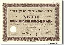 Vereinigte Bautzner Papierfabriken