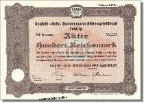 Hupfeld - Gebr. Zimmermann Aktiengesellschaft