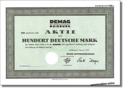DEMAG AG - Demag Cranes