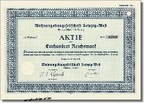 Wohnungsbaugesellschaft Leipzig-West Aktiengesellschaft