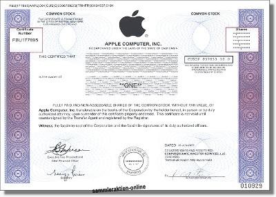 Apple Computer new - Dekodruck