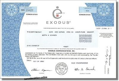 Exodus Communications Inc.