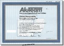 AluTeam Kommanditgesellschaft auf Aktien