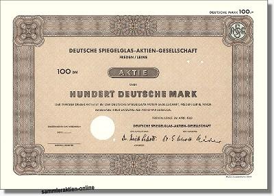 Deutsche Spiegelglas-Aktien-Gesellschaft