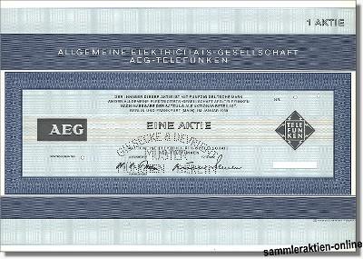 Allgemeine Elektricitäts-Gesellschaft AEG-Telefunken