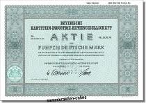 Bayerische Hartstein-Industrie-Aktiengesllschaft