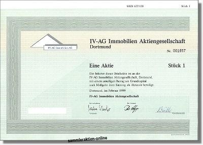 IV-AG Immobilien Aktiengesellschaft
