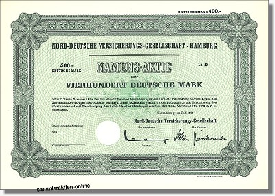Nord-Deutsche Versicherungs-Gesellschaft