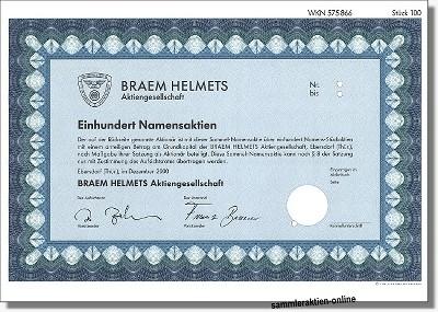Braem Helmets Aktiengesellschaft