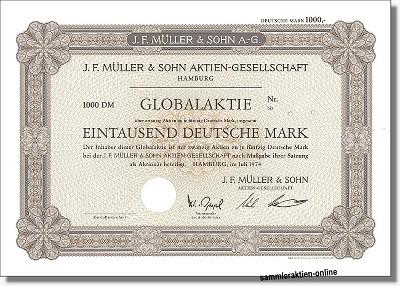 J. F. Müller & Sohn Aktien-Gesellschaft