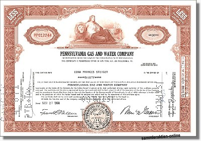Pennsylvania Gas and Water Company