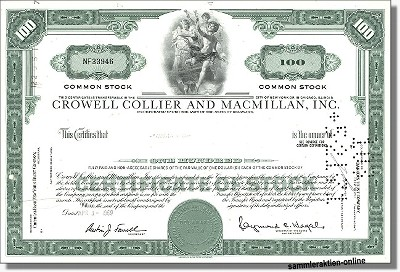 Crowell Collier and Macmillan Inc. - Holtzbrinck