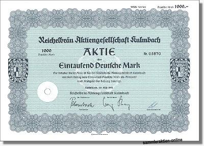 Reichelbräu Aktiengesellschaft