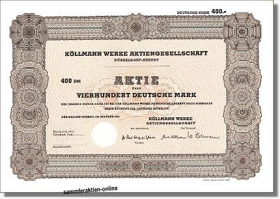 Köllmann Werke Aktiengesellschaft
