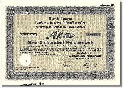 Busch-Jaeger Lüdenscheider Metallwerke AG