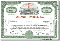 Foremost Dairies Inc.