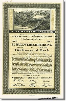 Walchenseewerk, Mittlere Isar, Bayernwerk